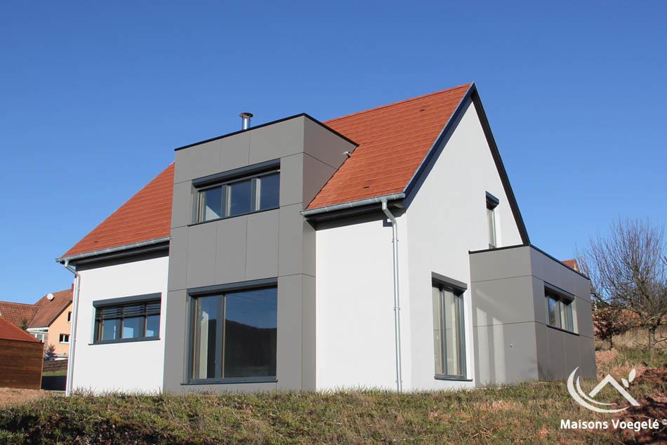 R alisations de maisons voegel consctructions de maison for Maison en bois alsace