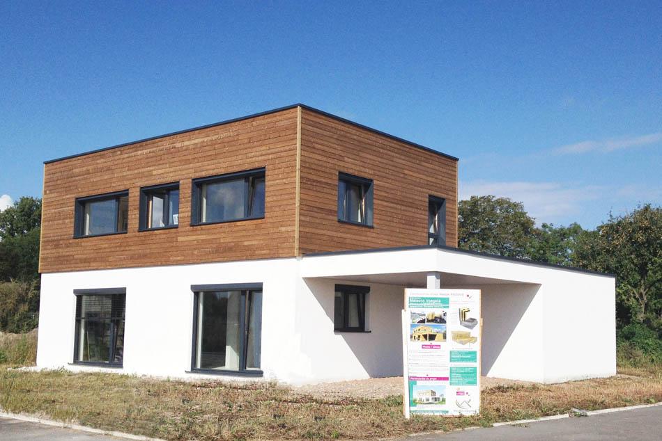 R alisations de maisons voegel consctructions de maison - Maison d architecte en bois ...